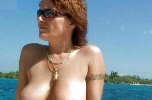 Photo nue pendant les vacances