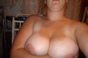Selfie de ma grosse paire de seins
