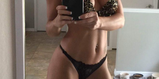 Photo en lingerie coquine