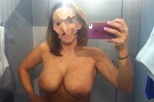 Topless gros seins