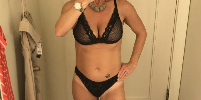 Test lingerie magasin