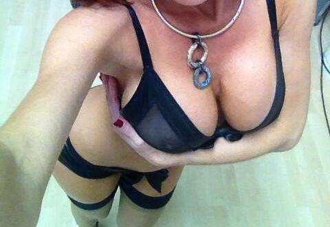 Selfie en lingerie sexy