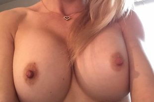 Selfie de ma poitrine sexy