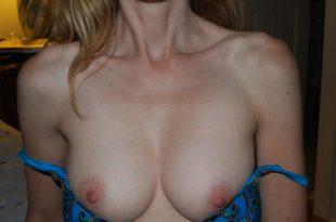 Photo très coquine de ma poitrine