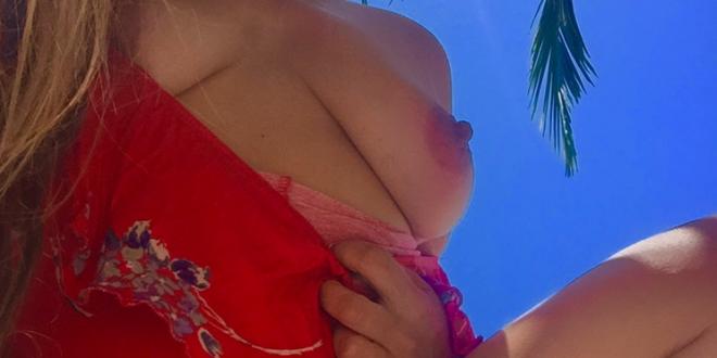 Jolie photo de ma poitrine